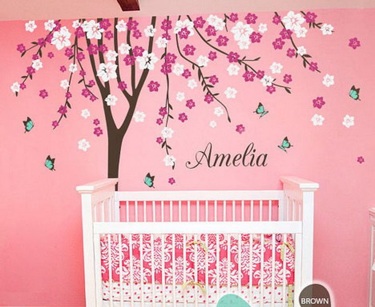 Plum Flower Blossom Tree Butterfly Personalized Custom