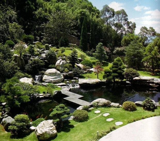 955 best images about japanese gardening on pinterest for Japanese garden pond design