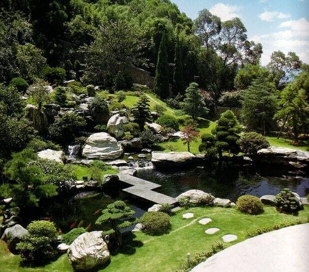 Las 25 mejores ideas sobre jardines japoneses en for Cascadas jardin zen