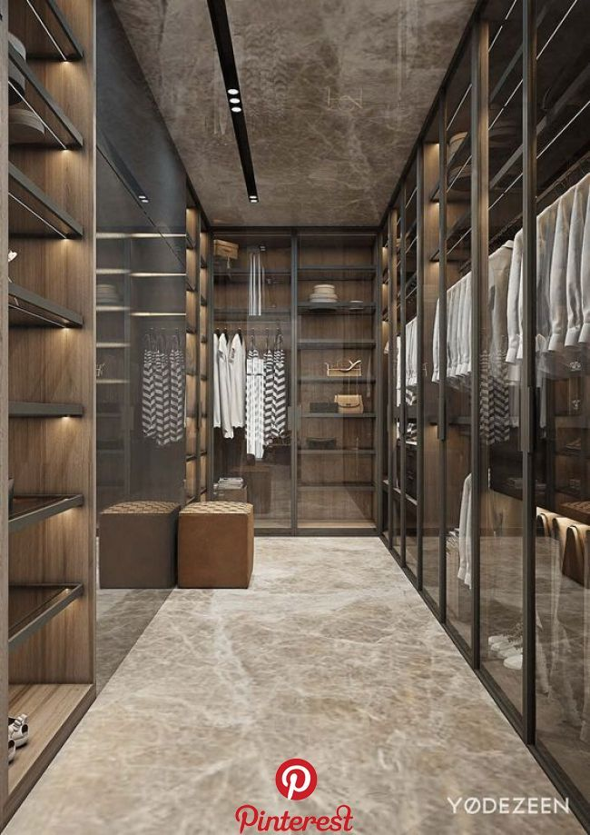Lacquered Wood And Glass Wardrobe Milano By Pianca In 2020