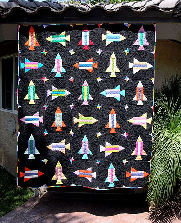 space shuttle quilt pattern - photo #4