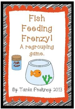 17 best images about addition with regrouping on pinterest for Fish feeding chart