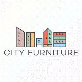 Exclusive Customizable Logo For Sale: City Furniture | StockLogos.com