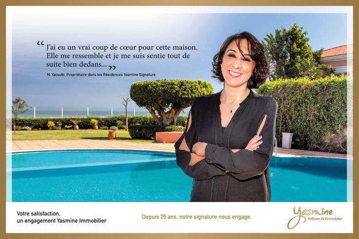 Votre satisfaction , un engagement Yasmine Signature Immobilier.