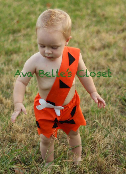 boys bam bam costume 6m to 5t by on etsy