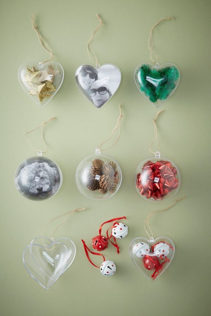 How to Use Fillable Baubles #christmas #bauble