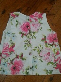 Back view  Sew over it shift dress top