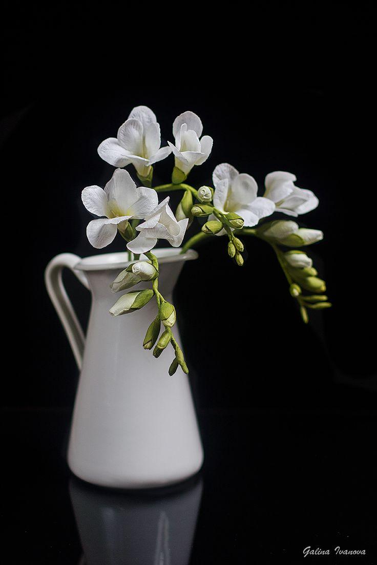 #foam Eva #flowers #freesia #фоамиран#цветы#фрезия
