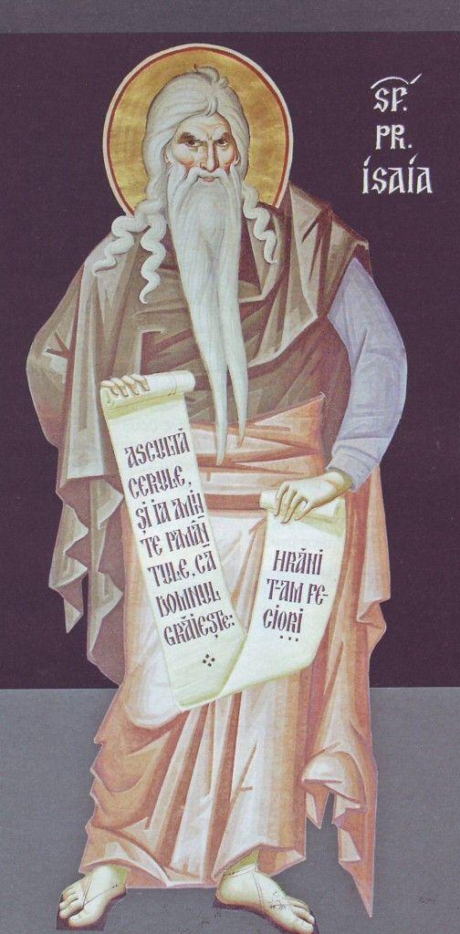 Sf profet Isaia