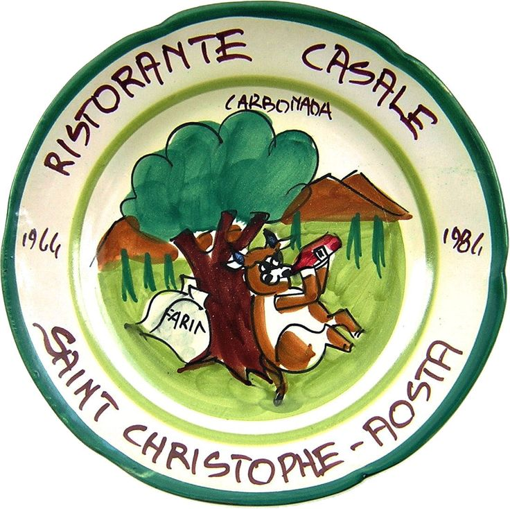 Saint Christophe - Aosta - Ristorante Casale: Carbonada (mag. 84 - mar. 96 )