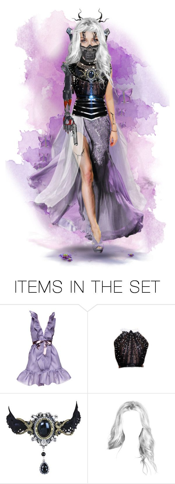 """""""♠ Violet Hill"""" by paty ❤ liked on Polyvore featuring art"""
