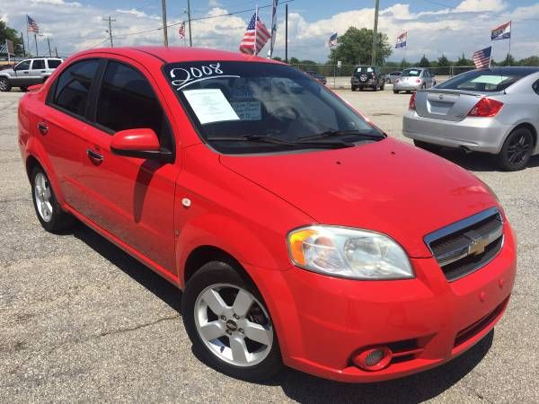2008 CHEVROLET AVEO LT (GREENVILLE SC) $3950