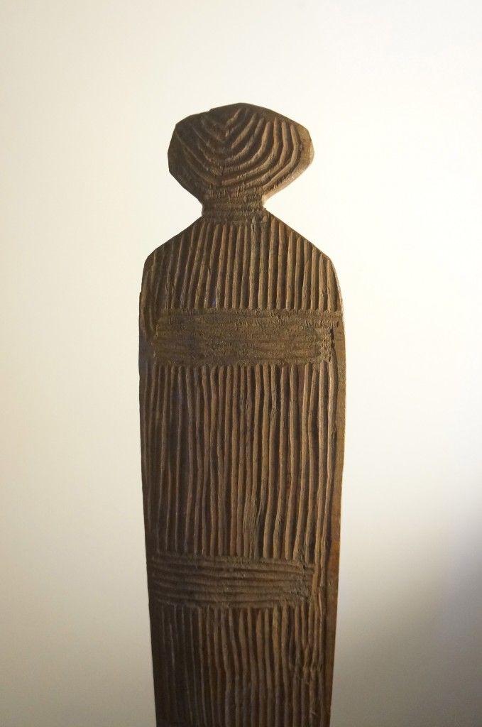 Adam Prout Tribal Art London: detail Australian Churinga