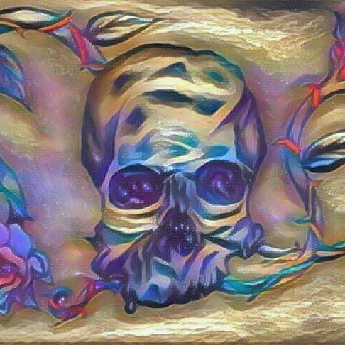 🌹💀🍃❤💛💚💙💜🌈 #edit #newdesign #rose #artwork #skullandroses #art #artist #soul #tuesday #design #skull #roses #tattoo #tattoodesign #instaart #instaartist #instalove #instagood #drawing #instago #instagram #prisma #work #tuesdaypost #rainbow #tuesdaymotivation #dreamy #insta #light #dark