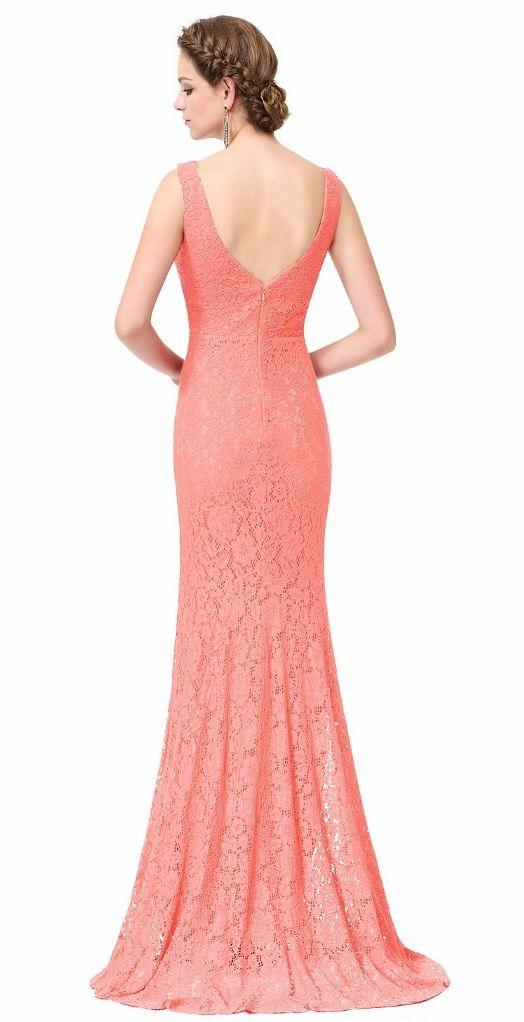 81 best Coral Bridesmaid Dresses images on Pinterest | Vestidos de ...