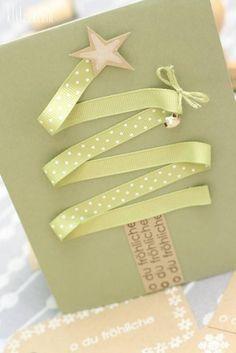 tarjetas de navidad originales hechas a mano