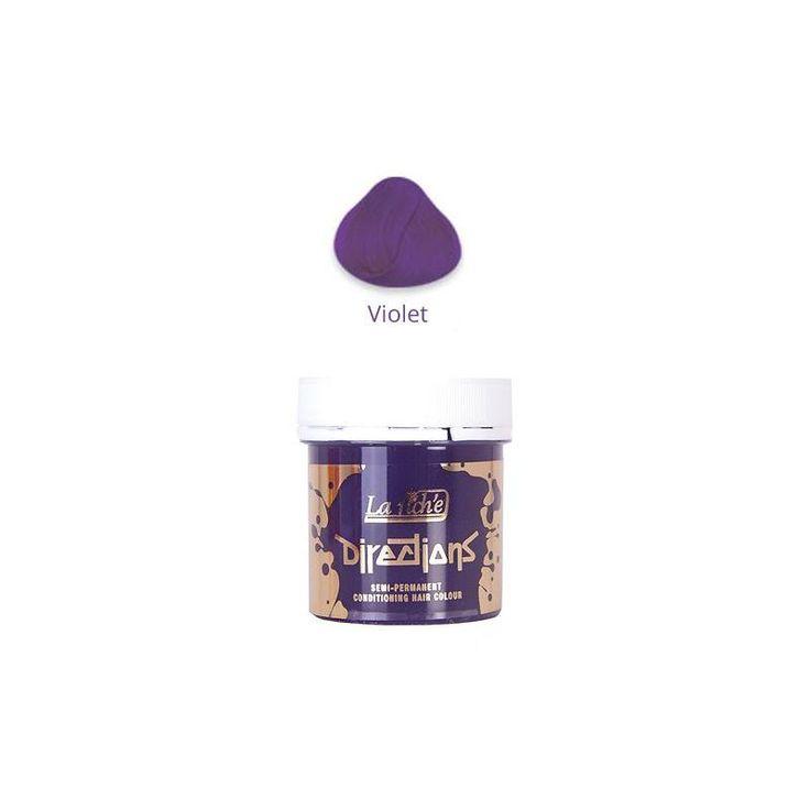 La gama de tintes Directions Violet dispone de una amplia gama de 34 tintes de pelo que cubren prácticamente cualquier tonalidad.