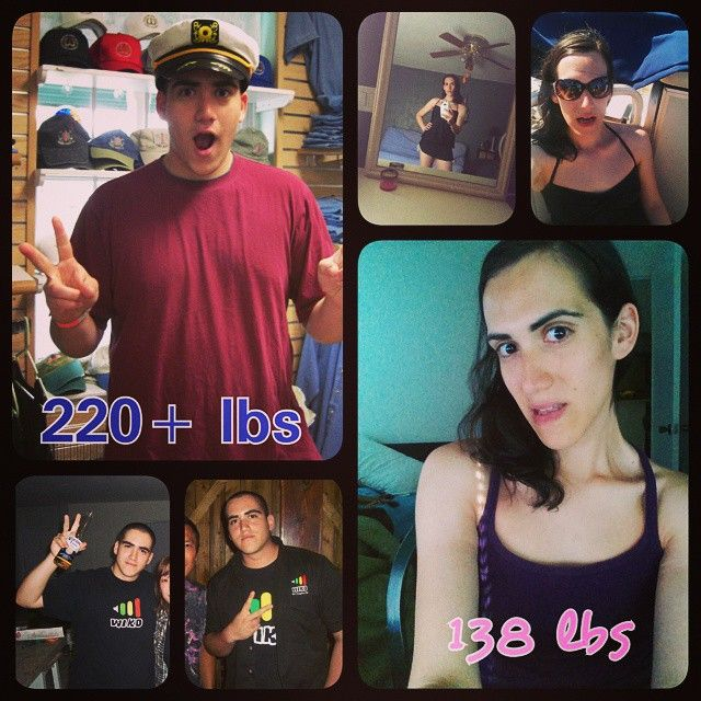 Don't ever let anyone stop you from reaching your goals. #progress #transandfit…