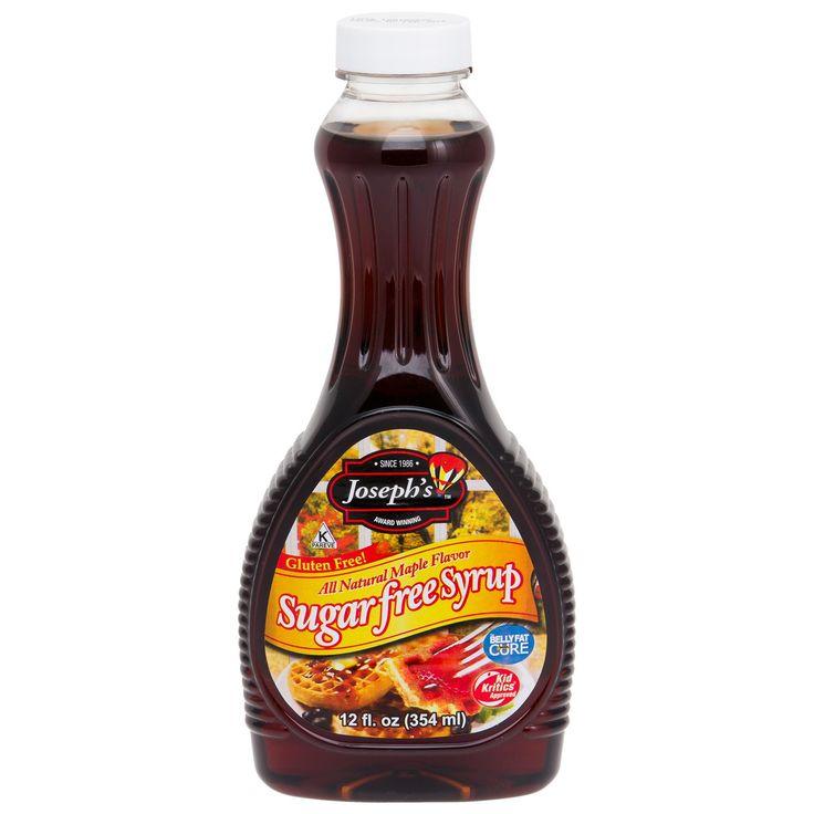sugar free syrup   Joseph's Original Sugar Free Maple Syrup