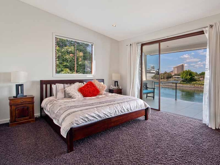 Another King bedroom, another great view from HolidayHouseGoldCoast.com