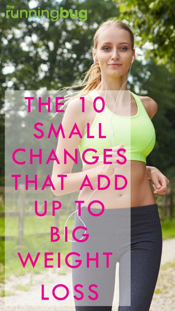 These small changes can make a huge difference...
