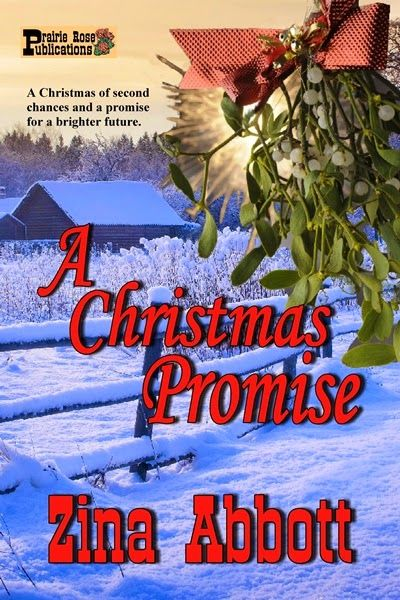 Prairie Rose Publications: PRP New Release - A CHRISTMAS PROMISE By Zina Abbott - Giveaway! Publisher's announcement including a blurb, excerpt and Amazon purchase link. Set in 1873 Wyoming, this is a Christmas tale of second chances and a promise for a brighter future.