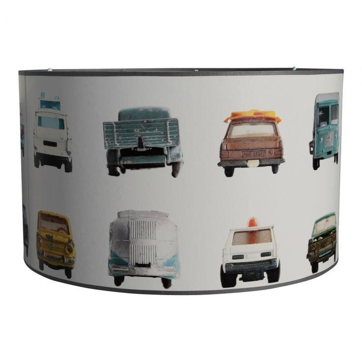 Lampenkap autobehang studio Ditte. Iedere lamp is een uniek exemplaar. Verkrijgbaar in twee maten: Doorsnede 30cm hoogte 25cm €59,95 Doorsnede 40cm hoogte 25cm €74,95