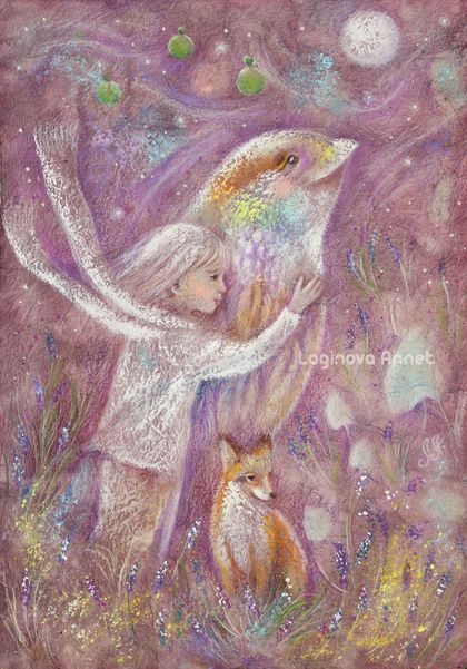 Enchanting sounds of bird trills ...Chirping by the brook ... Flying in dreams and reality :) Birds!   Art of Annet Loginova   https://www.etsy.com/ru/shop/AnnetPainting?ref=search_shop_redirect   http://www.livemaster.ru/l-annet   Annet Loginova