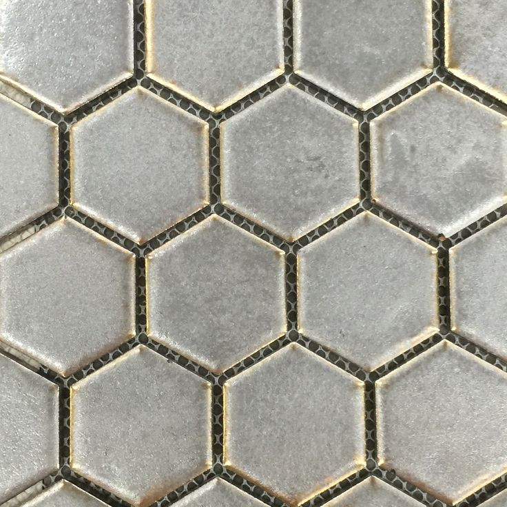 Bronze Hexagonal Mosaics - Surface Gallery  www.surfacegallery.com.au #bronzehexagonmosaics #bronzehex #hexagon #bathroommosaics #kitchenmosaics