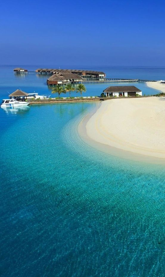 One of the Most Romantic Places in the World   The Maldives  