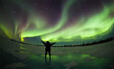 See the northern lights in alaska, i want to do this SO bad!!