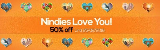Ofertas de San Valentin en juegos Indies en el eShop Wii U