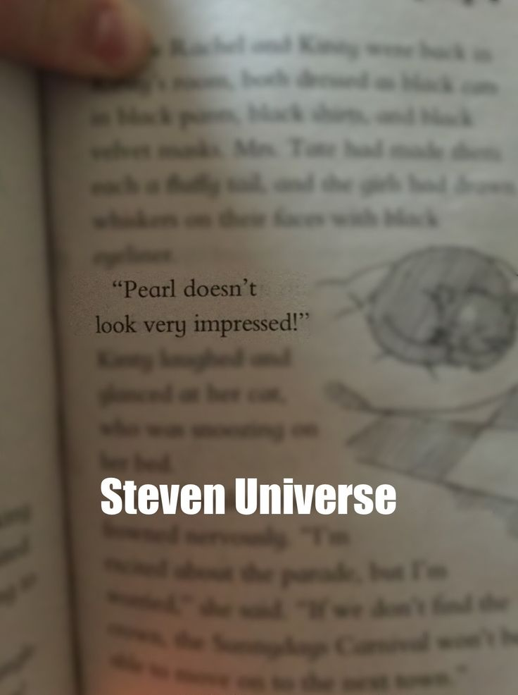 Rainbowmagicbooks, daisymedows, stevenuniverse, pearl>>> That's it that's the show