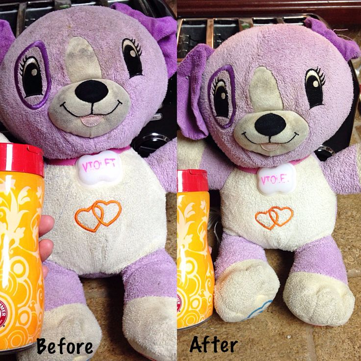 Cleaning stuffed animals naturally clean stuffed