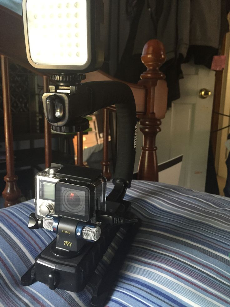 Gopro Hero4 black with Vivitar stabilizer microphone and LED light attachments & 24 best Light the Night images on Pinterest | Cameras Gopro ... azcodes.com