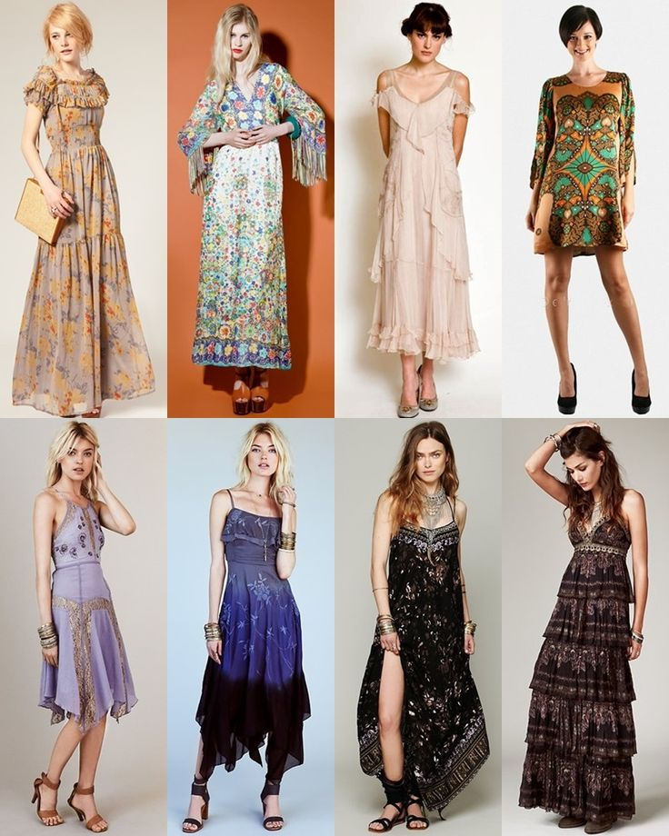 boho clothing | Boho Style Clothes Wedding guest attire: what to