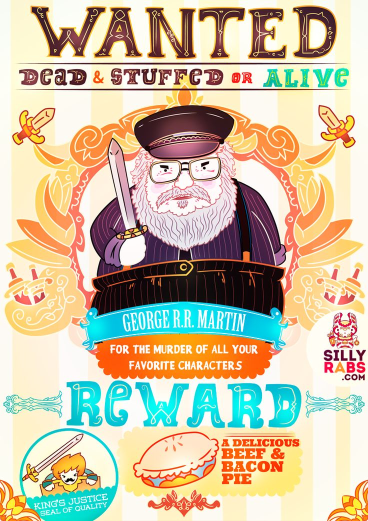 WANTED! George R.R. Martin