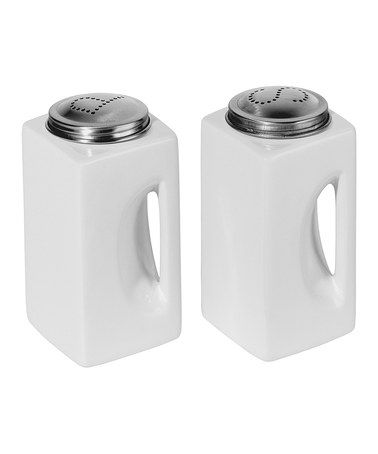 $8.99 I love this timeless salt & pepper shaker set on #zulily today! Just snagged a set for my kitchen.