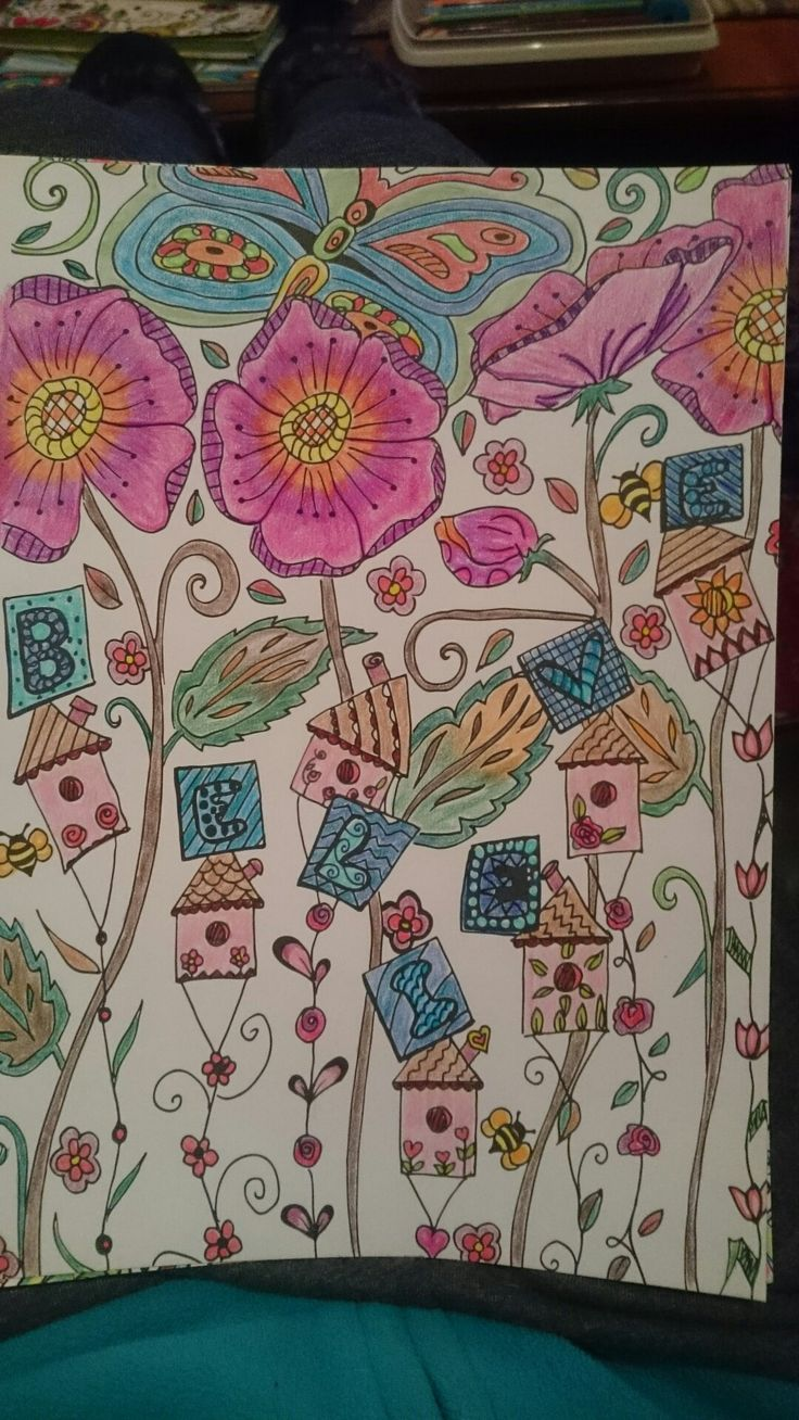 Zendoodle coloring enchanting gardens - Color Me Inspired Vol 1