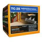 TC-2S Hidden Deck Fasteners (90-Pack), Stainless