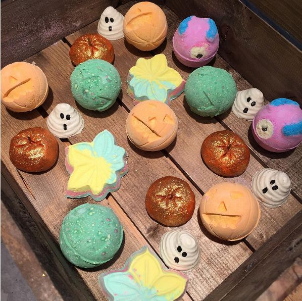 Lush, maker of those bomb-ass bath bombs, has launched a Halloween line of products and Imma die of happiness.