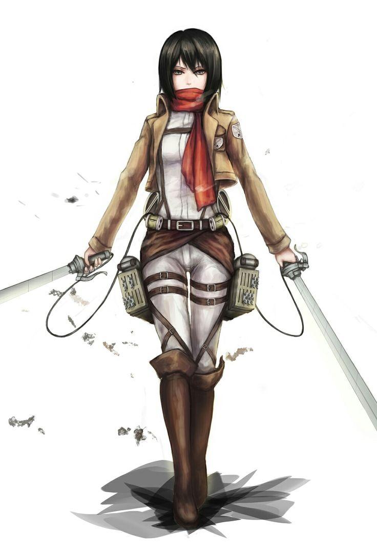 L'attaque des Titans Mikasa