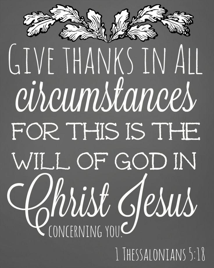 Free Chalkboard-Style Thankfulness Scripture Printables