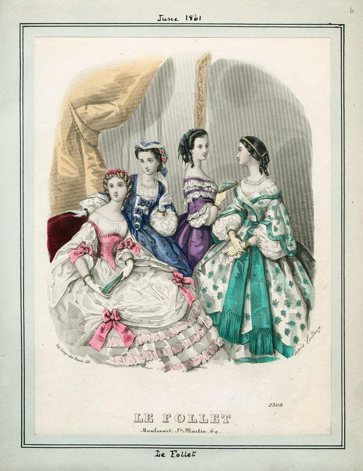 Le Follet, June 1861