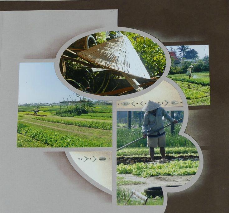Les jardins partagés de Hoi An (Vietnam) pages superposées réalisées avec le gabarit Eole