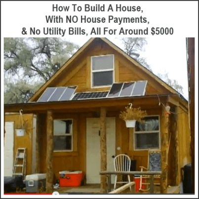 No house payments and no utility bills, that's the dream, right? Well maybe that dream isn't as far fetched as you might think! The video above shows how one guy built a cabin for $2000, drilled his own well and installed a solar power system…