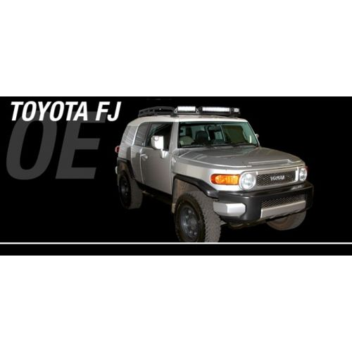 Rigid Industries Toyota FJ Cruiser 05 Up Roof Rack LED Light Bar Mount