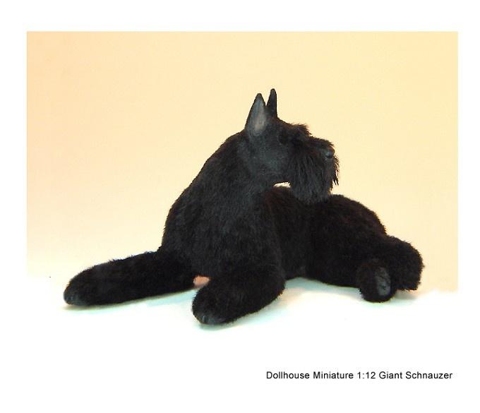 Kerri Pajutee Miniature Animals ~ Giant Schnauzer