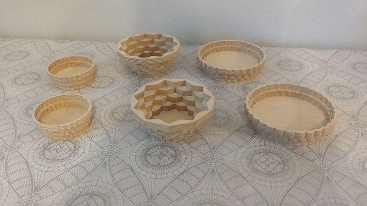 16. Тарелки из фанеры. How to make a Scroll Saw Plate