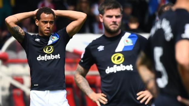Brentford v Blackburn Rovers